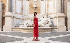 Frangiamore. L'abilità sartoriale di Sylvio Giardina dialoga con le bellezze di Roma